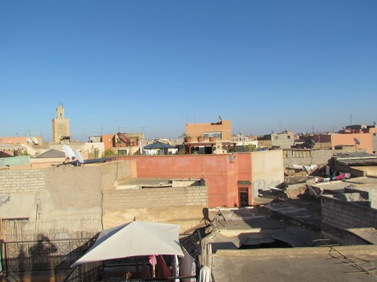 Riad Dar Tiflet: View from the roof