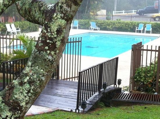 Parador Villas Sotomayor:                   La piscina