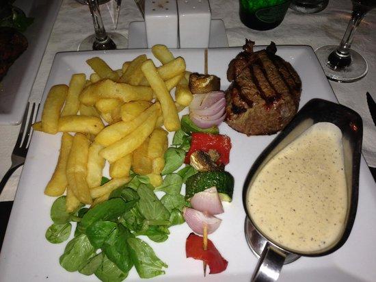 Fillet steak @ baybrooks