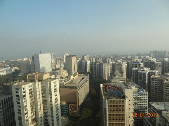Trident, Nariman Point:                   from room