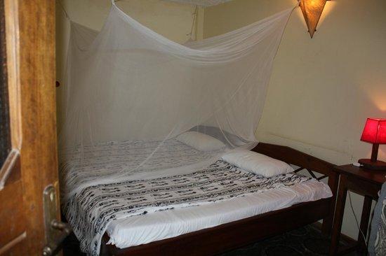 Moyoni Lodge:                   Chambre de la dernière nuit