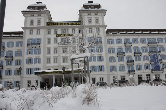Kempinski Grand Hotel des Bains St. Moritz:                   Christmas time at The Kempinski Grand