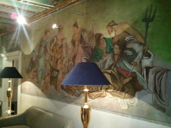 Gardena Hotel:                   Hall d'entrée