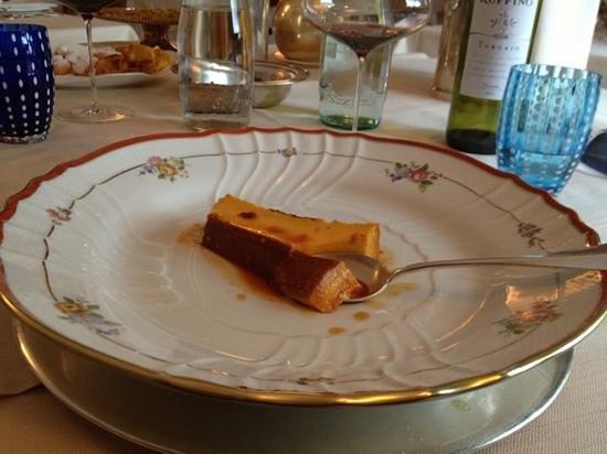 San Rocco :                   crem caramel straordinario