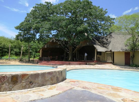 Kwalape Safari Lodge:                   Swimmingpools