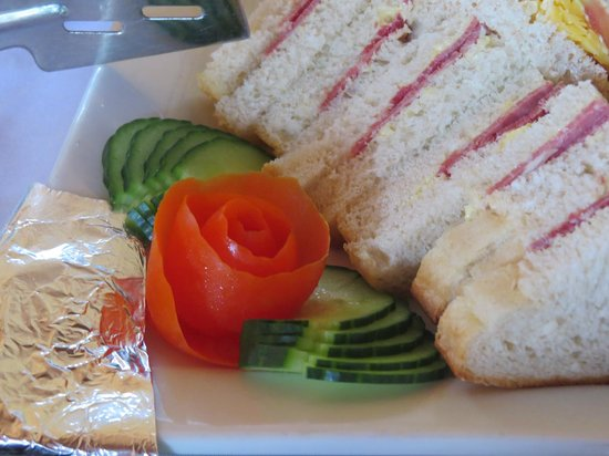 Kwalape Safari Lodge:                   Lovely lunch sandwiches