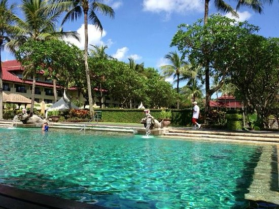 INTERCONTINENTAL Bali Resort:                   Poolside