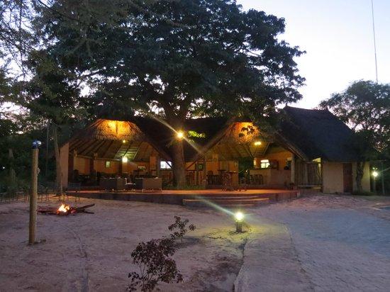Kwalape Safari Lodge :                   Lovely bar