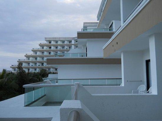 Hotel Riu Caribe:                   vista