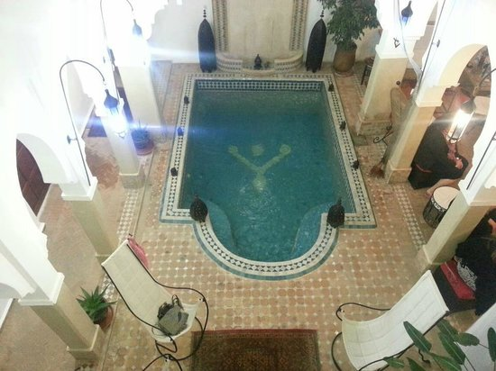 Riad Les Jardins Mandaline:                   The pool