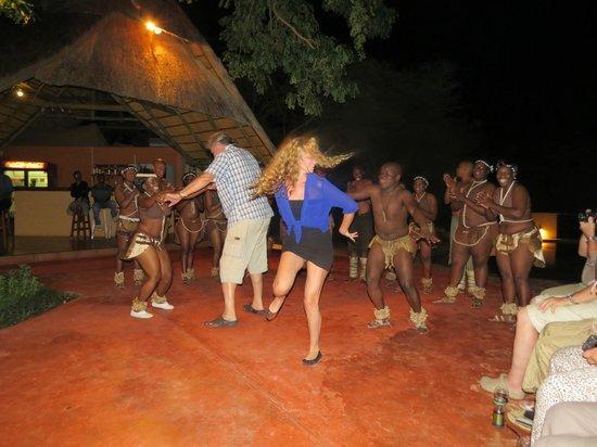 Kwalape Safari Lodge:                   Fantastic entertainment