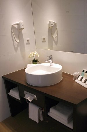 Charleroi Airport Hotel: Bathroom for Comfort room