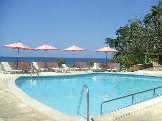 Couples Sans Souci:                                                       Upper pool with ocean view