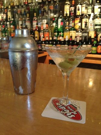 Mill Hill Inn:                   Perfect martini every time!