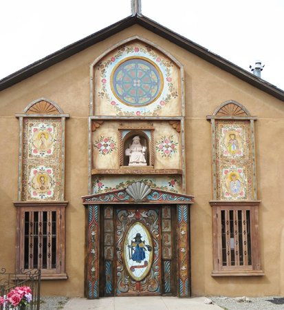Chimayo, NM:                   Santa Nino Chapel