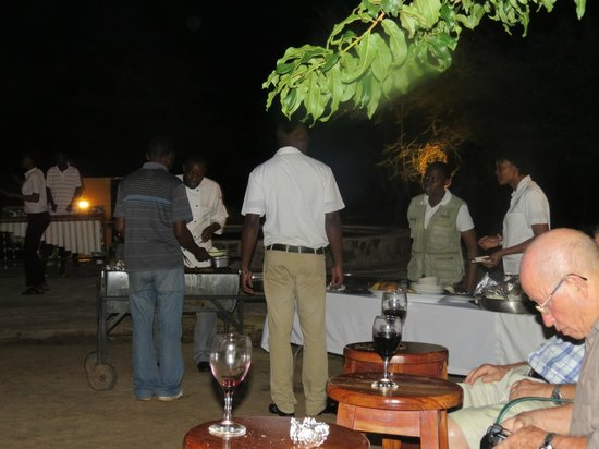 Kwalape Safari Lodge:                   Braai