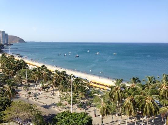 Hotel be La Sierra :                   Blick vom Zimmer