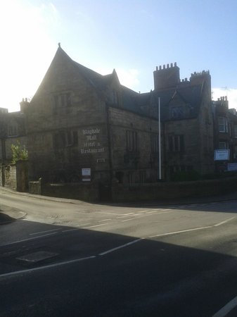Bagdale Hall Hotel:                                     Hotel from main road
