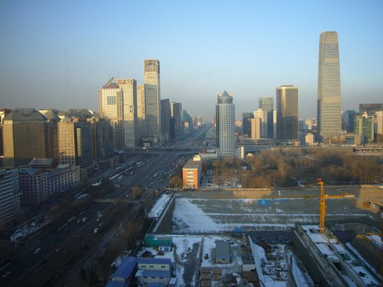 Sofitel Wanda Beijing:                                     Wonderful view from 20th floor . . .