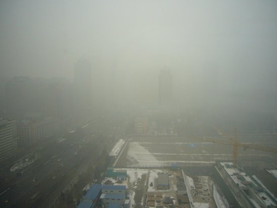 Sofitel Wanda Beijing:                                     . . . which might be some kind of misty these days :-))