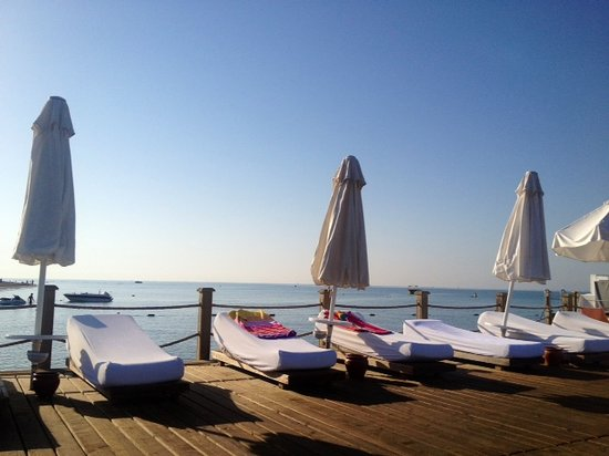 Voyage Belek Golf & Spa:                                     View from the Jetty