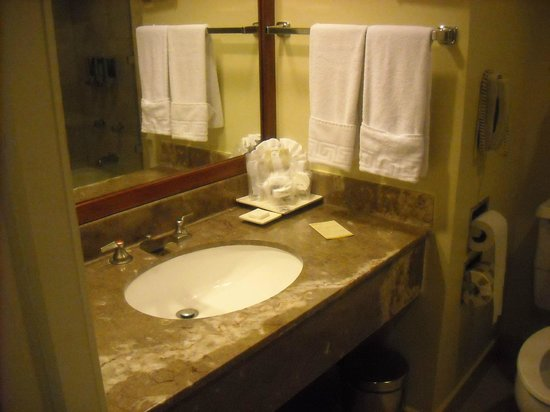 Barcelo Guatemala City:                   Bathroom sink
