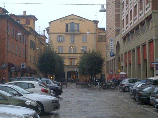 Art Hotel Novecento:                   Hotel Novocentro from Plaza