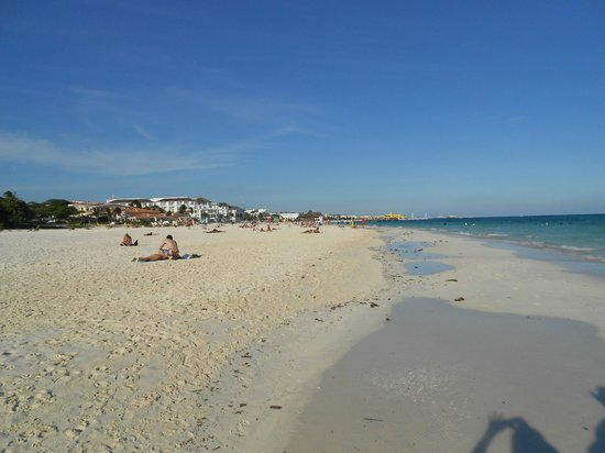 Iberostar Quetzal Playacar:                   Plage vers Playa Del Carmen