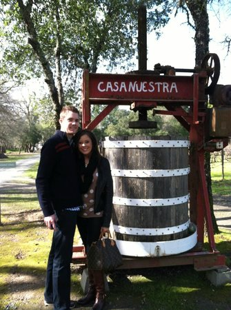 Platypus Wine Tours:                                     Casa Nuestra vineyard during our Platypus Tour