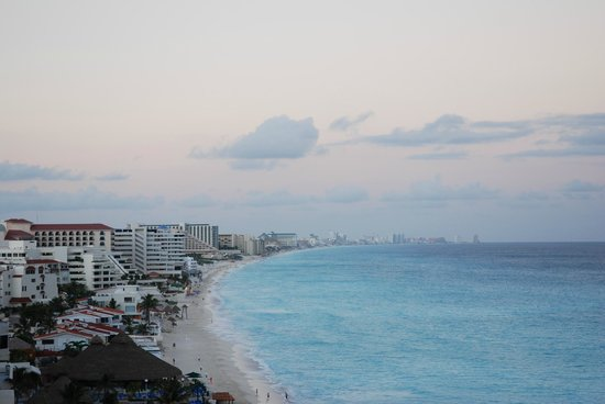 Cancun View from Bsea Cancun Plaza