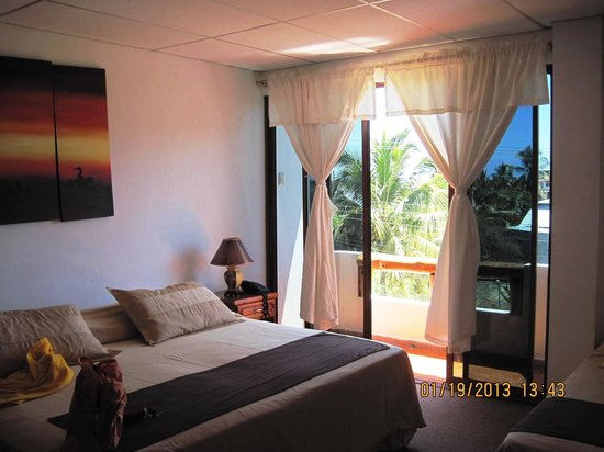 Galapagos Islands Hotel:                   Hotel Room