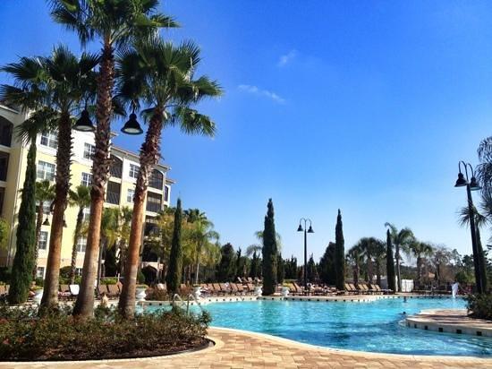 ورلد وست أورلاندو ريزورت:                   the lovely pool area                 