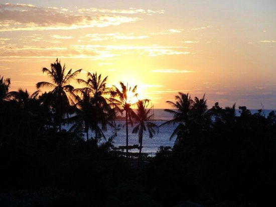 BEST WESTERN Tamarindo Vista Villas:                   Sunset from our room