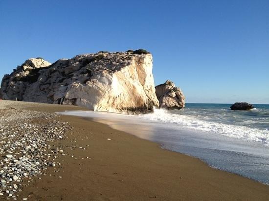 Kouklia, Chypre :                   Aphrodite's Rock