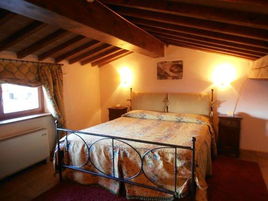 Borgo di Celle:                   camera letto
