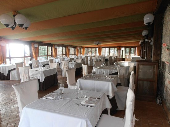 Borgo di Celle:                   sala pranzo