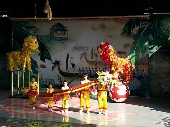 Lingnan Impression Park:                                     공연
