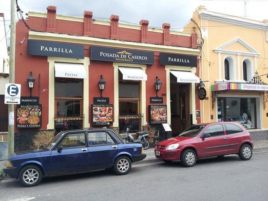 Frente De Restaurante Picture Of Posada De Caseros
