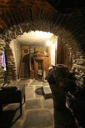 La bergerie du Miravidi : Entrée privée