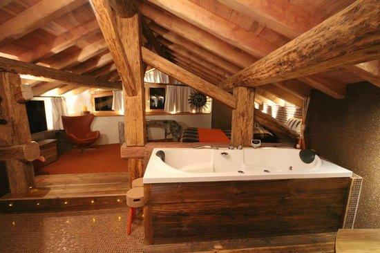 La bergerie du Miravidi : La chambre