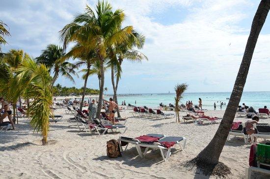 Barcelo Maya Caribe: spiaggia caribe