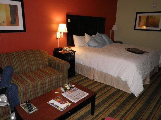 Hampton Inn Richmond Mechanicsville:                   Our King Study Room