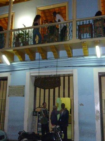 Santiago de Cuba, Cuba:                   Casa de la Musica