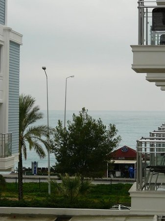 Sealife Family Resort:                   View to the sea from the room