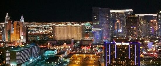 Signature at MGM Grand :                   View from our room