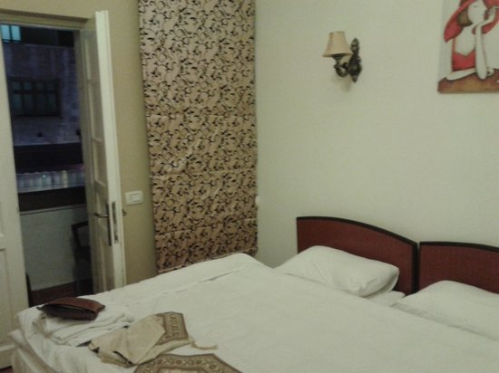 The Boutique Hotel Amman:                   room with balcony