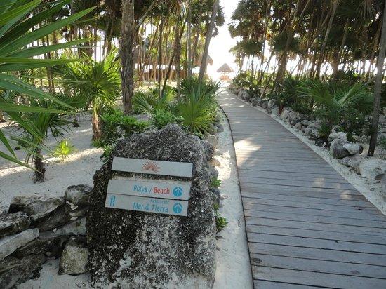 Valentin Imperial Maya: Valentin - Beach Walk