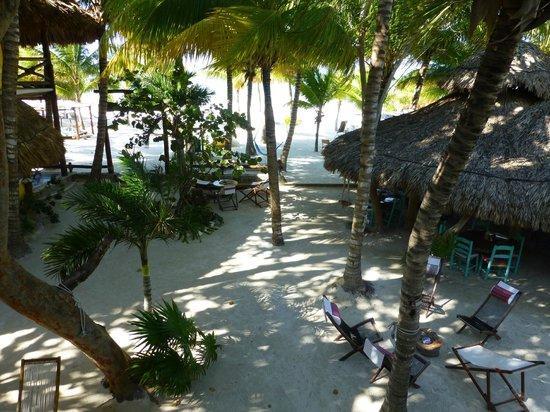 Holbox Hotel Mawimbi: Terrace view