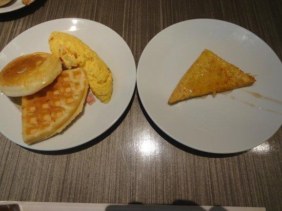โรงแรมเซ็นเตอร์ พอยต์ ชิดลม:                   breakfast
