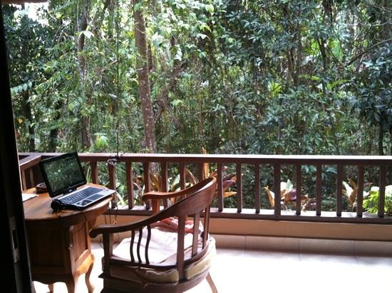 Jati 3 Bungalows:                   balcony/varanda